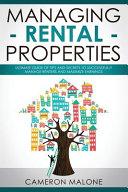 Managing Rental Properties