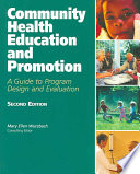 Community Health Education and Promotion Book