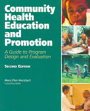 Community Health Education and Promotion