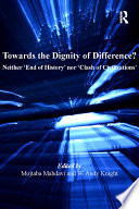 Towards the Dignity of Difference  Book PDF