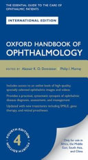 Cover of Oxford Handbook of Ophthalmology