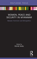 Women  Peace and Security in Myanmar