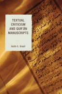 Pdf Textual Criticism and Qur'an Manuscripts Telecharger