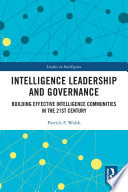 Intelligence Leadership and Governance