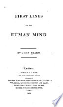 First Lines Of The Human Mind