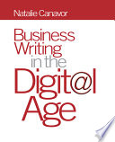 Business Writing in the Digital Age Book