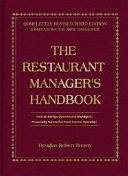 The Restaurant Manager s Handbook