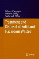 Treatment and Disposal of Solid and Hazardous Wastes