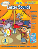 Hooked On Phonics Pre K Letter Sounds Workbook