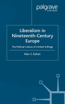 Liberalism in Nineteenth Century Europe