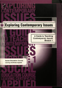 Pdf Exploring Contemporary Issues: a guide to teaching contemporary issues in Leaving Certificate Applied