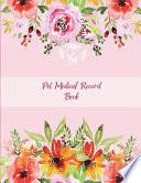 Pet Medical Record Book
