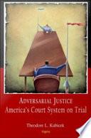 Adversarial Justice Book
