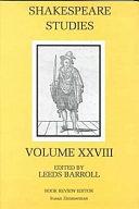 Shakespeare Studies [Pdf/ePub] eBook
