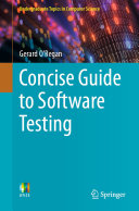Concise Guide to Software Testing Pdf/ePub eBook