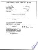 Securities And Exchange Commission Litigation Complaint April 11 2007