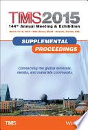 TMS 2015 Supplemental Proceedings