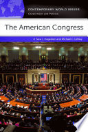 The American Congress  A Reference Handbook