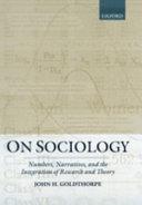 On Sociology