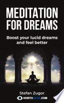 Meditation For Dreams Book