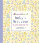 Baby s First Year Memories for Life Book
