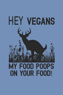 Hey Vegans