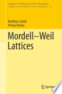 Mordell Weil Lattices
