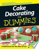 """Cake Decorating For Dummies"" by Joe LoCicero"