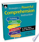 Strategies for Powerful Comprehension Instruction  It Takes More Than Mentioning  Book PDF