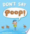 Don t Say Poop  Book