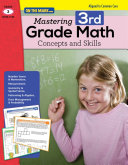Mastering Third Grade Math  Concepts and Skills  Aligned to Common Core