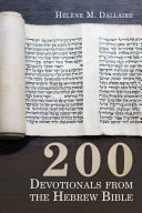 200 Devotionals from the Hebrew Bible Pdf/ePub eBook