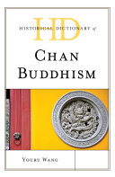Historical Dictionary of Chan Buddhism
