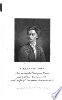 The Works of Alexander Pope  Esq   in Verse and Prose