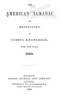 The American Almanac and Repository of Useful Knowledge  for
