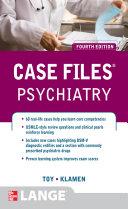 Case Files Psychiatry  Fourth Edition