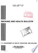 Smoking and Health Bulletin Book