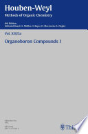 Houben-Weyl Methods of Organic Chemistry Vol. XIII/3a, 4th Edition