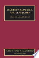 Diversity  Conflict  and Leadership