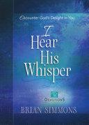 I Hear His Whisper Volume 2 Pdf
