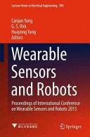 Wearable Sensors and Robots Book