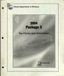 Package X  Tax Forms and Information