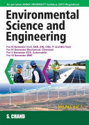 Environmental Science and Engineering  For Anna University
