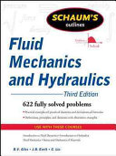 Cover of Schaum's Outline of Fluid Mechanics and Hydraulics, 3ed