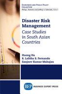 Disaster Risk Management Book PDF