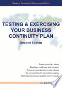 Testing   Exercising Your Business Continuity Plan