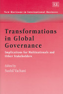 Transformations in Global Governance