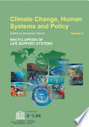 Climate Change  Human Systems  and Policy   Volume II