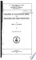 Children Of Illegitimate Birth And Measures For Their Protection