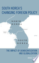 South Korea s Changing Foreign Policy Book